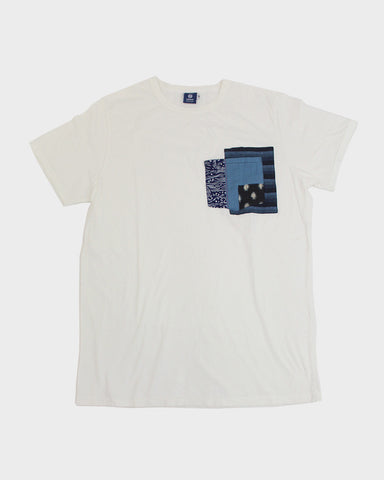 Pocket Tee White Nami