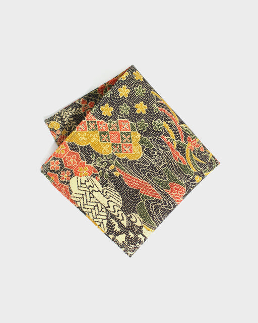 Pocket Square, Kumo and Floral