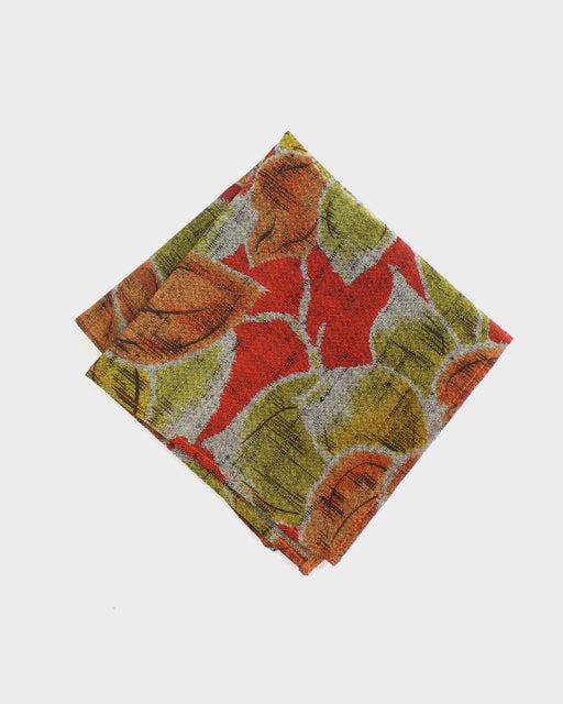 Pocket Square, Autumn Leaves