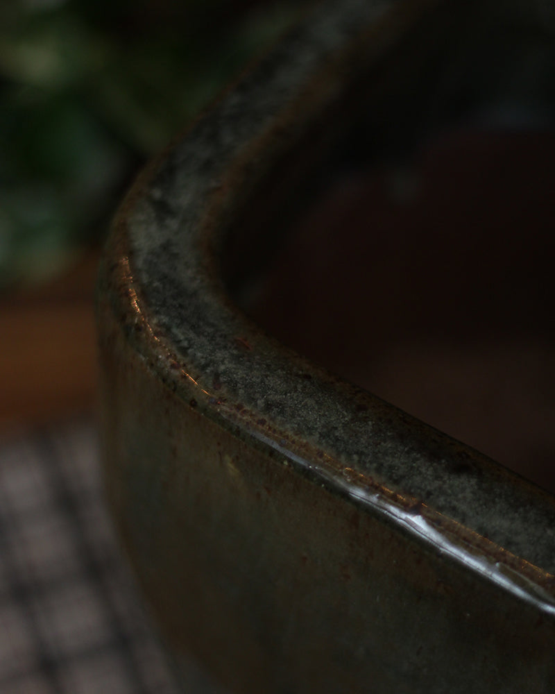 Jade Glazed Pot