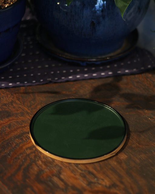 Small Bamboo Plate, Green