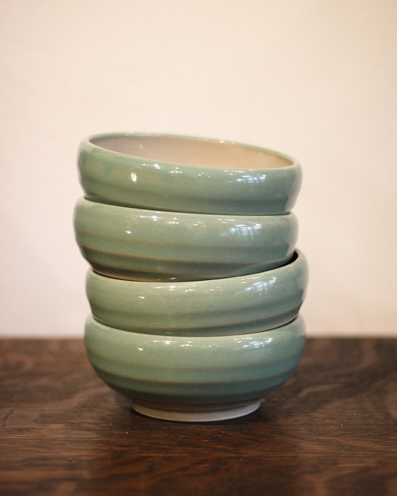 Medium Bowl, Green Grape