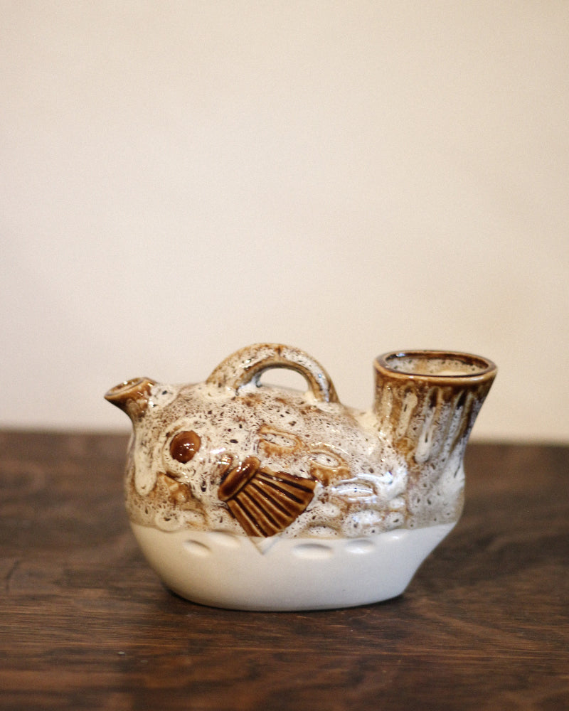 Sake Set, Blowfish, Set of 7
