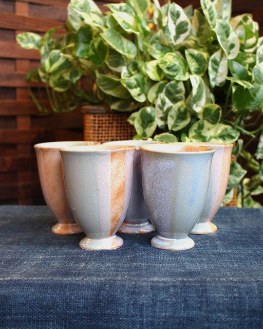Tall Pastel Cups, Set of 5