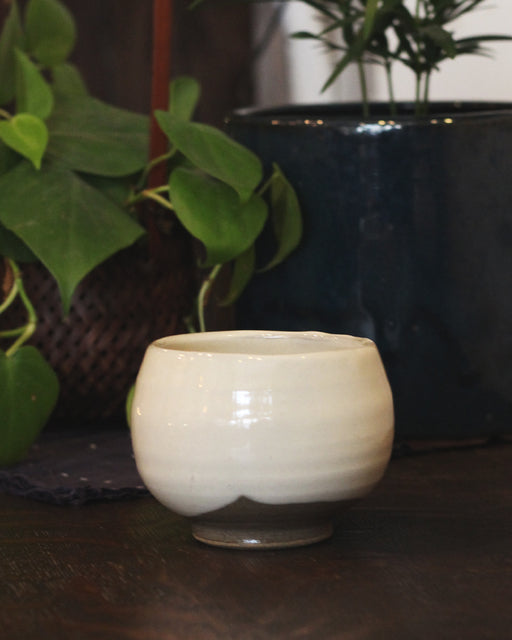 Mashiko-Yaki Large White Bowl