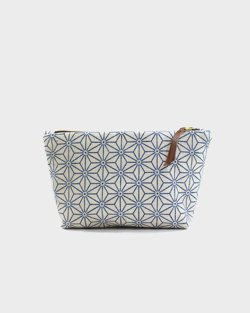 Stand-Up Pouch, Cream Asanoha