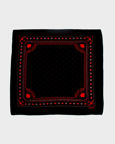 Bandana Harvest Black and Red