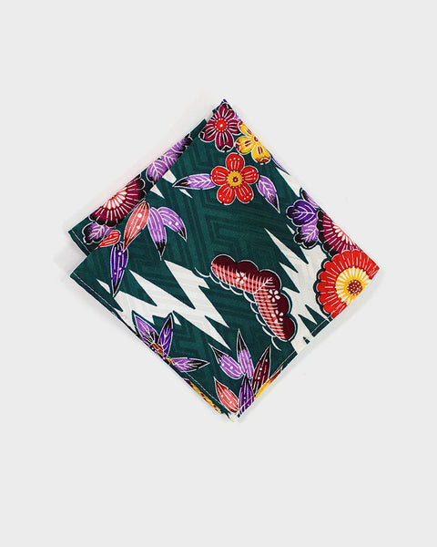 Pocket Square Kimono Colorful Kiku