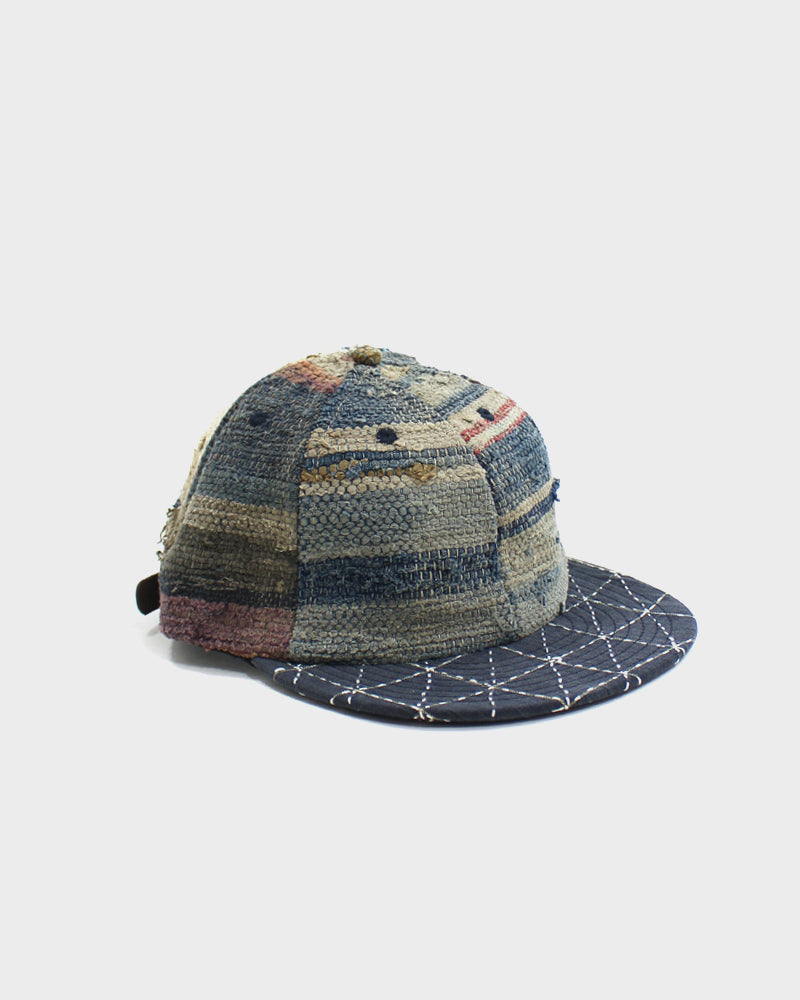 Kiriko Sakiori and Sashiko Cap