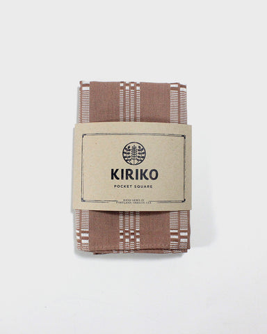 Pocket Square Natural Shuri-Ori