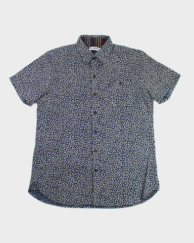 Button-Up Shirt Short Sleeve Sakura