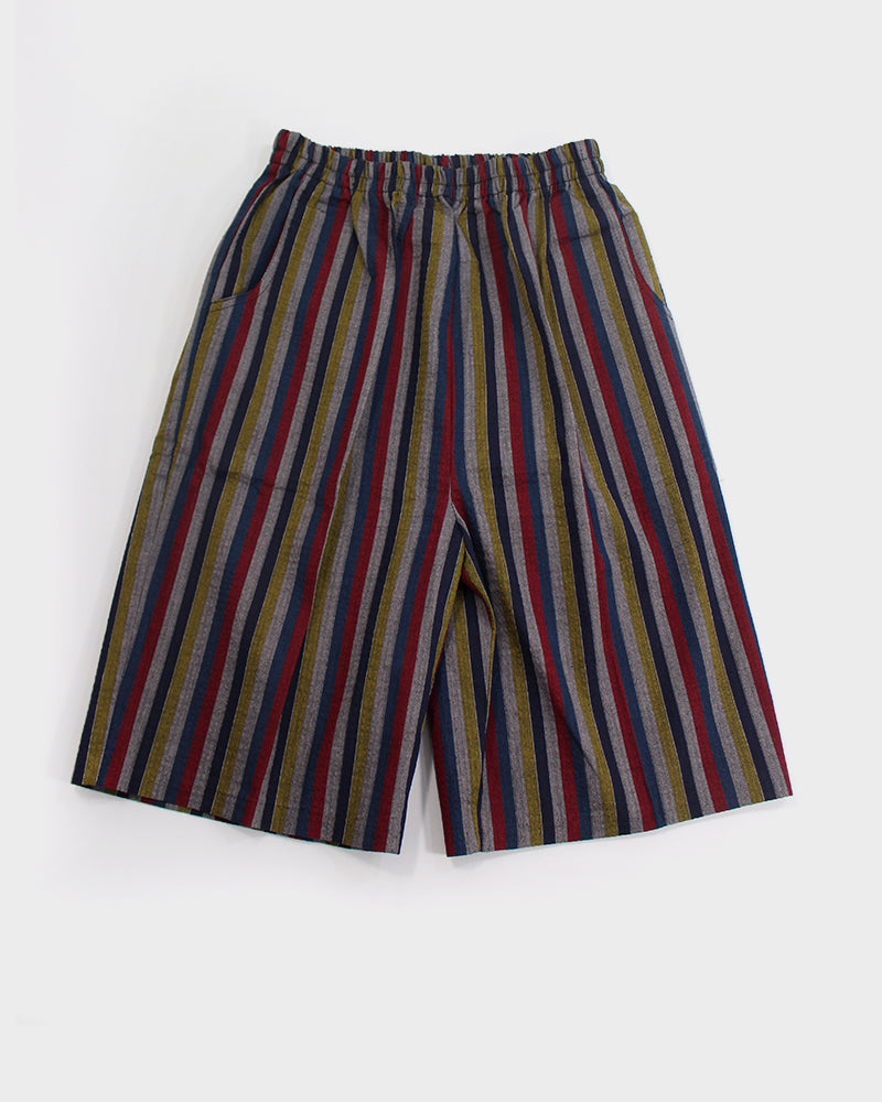 Shijira Shorts, Yellow, Red and Indigo Shima