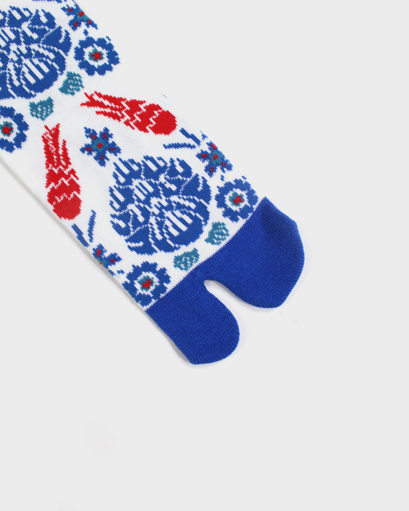 Tabi Socks, Red, White and Blue (M/L)
