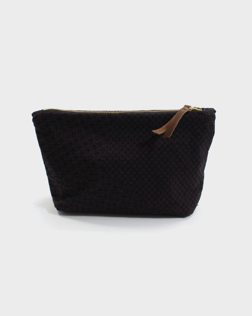 Stand-Up Pouch, Deep Purple Sashiko