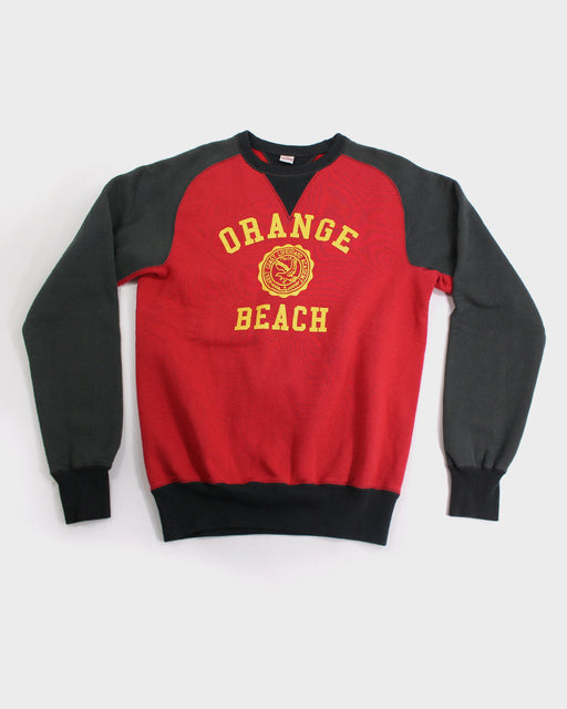 Flathead Crewneck, Orange Beach, Grey and Red (L)
