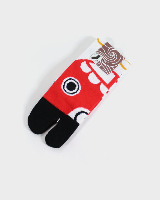 Tabi Socks, Koi-Nobori, Red (M/L)