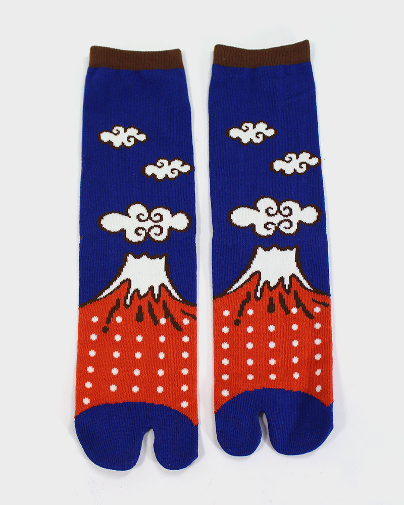 Tabi Socks, Mt. Fuji (S/M)