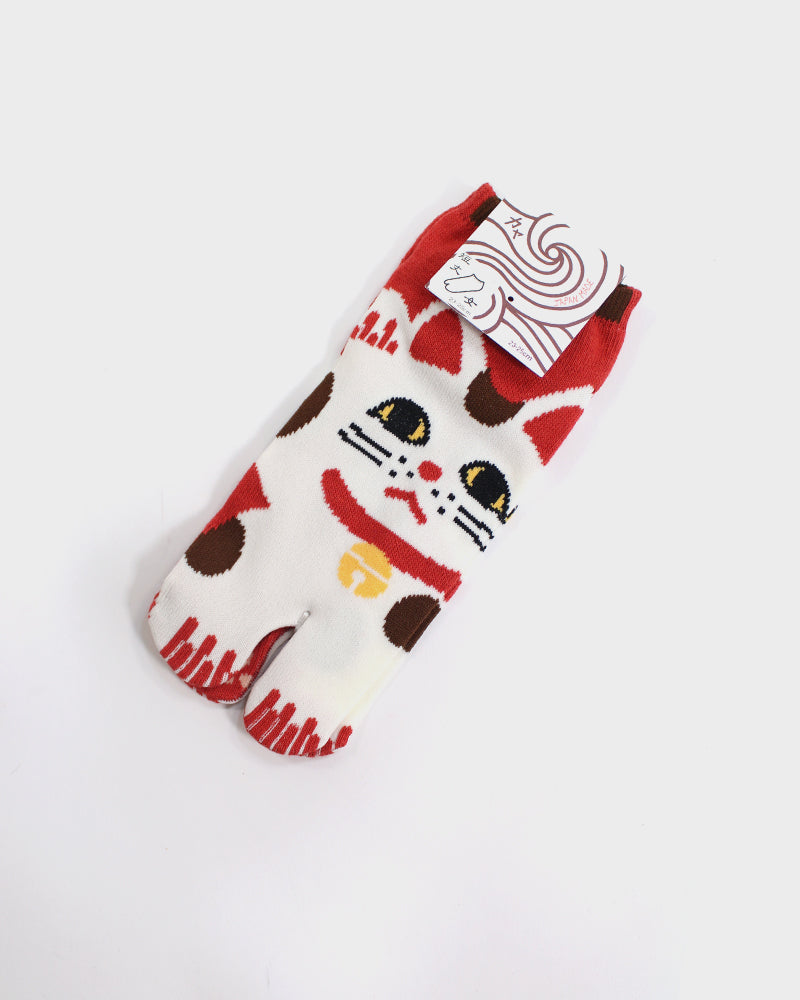 Tabi Ankle Socks, Maneki-Neko