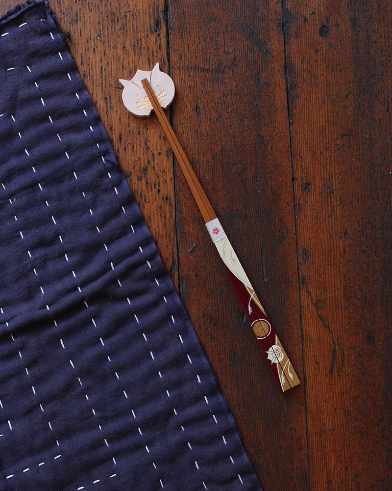 Chopsticks and Rest Set, Usagi