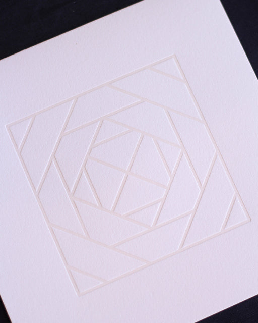 Taiga Press Card, Croatian Geometric No. 3
