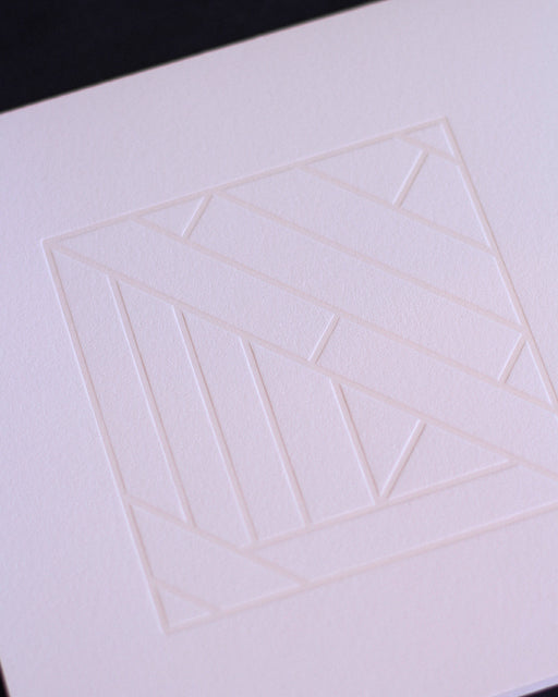 Taiga Press Card, Croatian Geometric No. 4