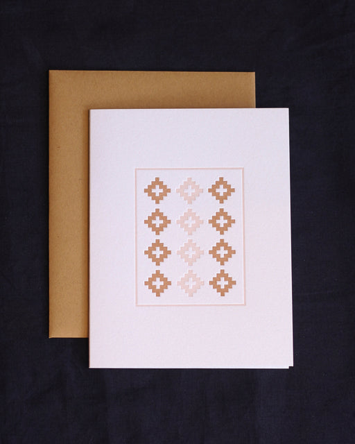 Taiga Press Card, American Quilt No. 3