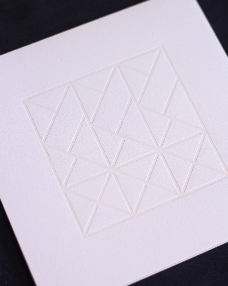 Taiga Press Card, Croatian Geometric No. 2