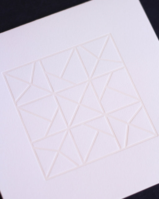 Taiga Press Card, Croatian Geometric No. 1