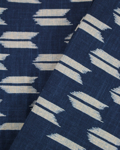 Tea Towel Large, Indigo Yagasuri