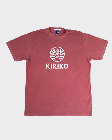 Printed Logo Tee, Red