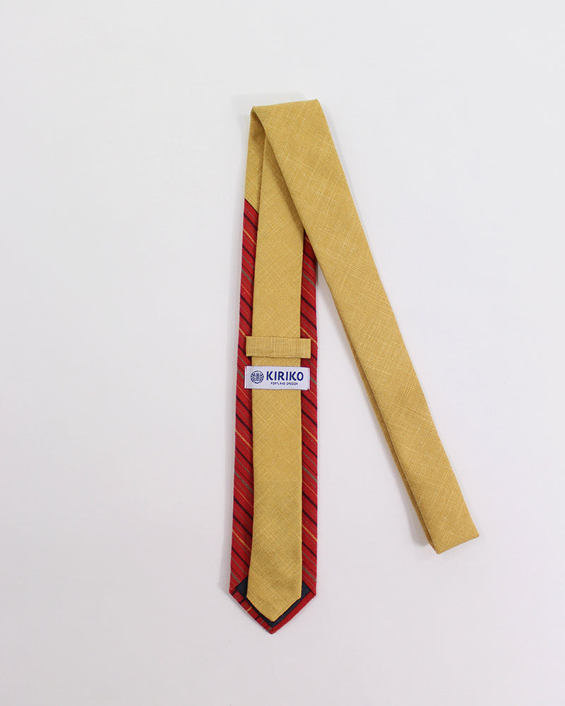 Tie Orange and Red Shima