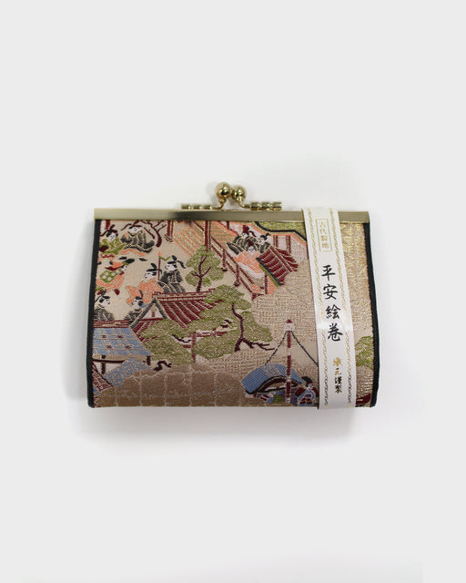 Obi Village, Silk Embroidered Wallet