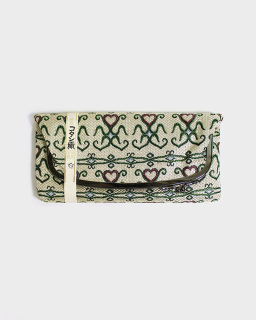 Ainu Kotan Weave, Clutch Bag
