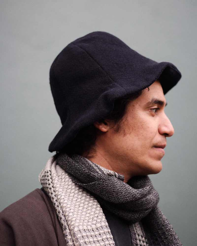 Prospective Flow, Suna Hat Wool, Dark Navy