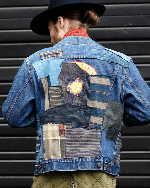 35530976dee One of a Kind Patched Leviʻs Jacket