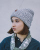 Knit Cap Red and White