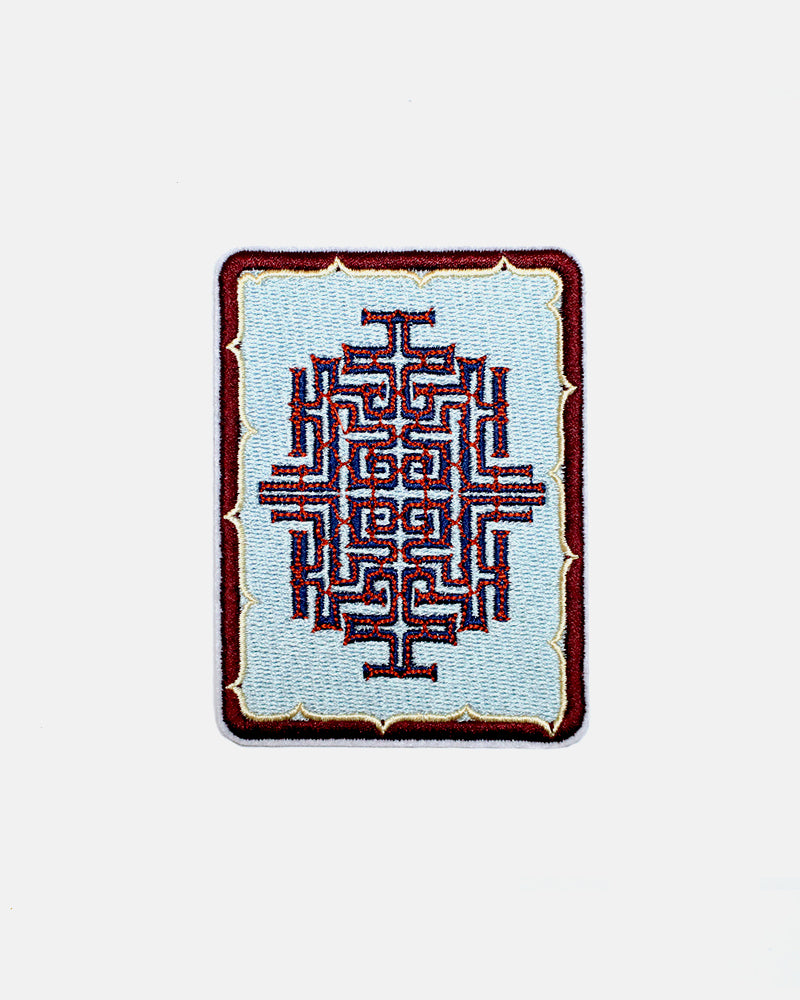 Embroidered Patch, Ainu