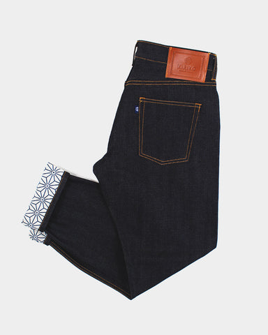 Japanese Selvedge Denim, Womens, Asanoha