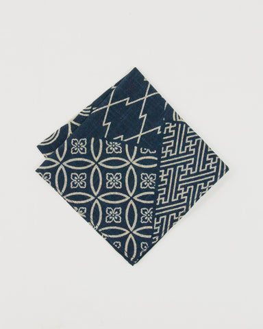 Pocket Square Large Multi Pattern