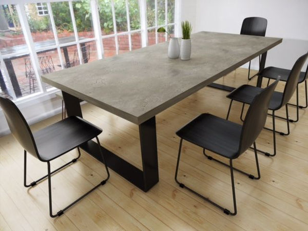 Ins and Outs of Owning a Concrete Dining Table Dining on Concrete