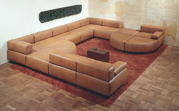 7f06a955dd086 The Cubo Sectional sofa is considered to be the first official sectional  sofa of the Mid-century Modern design era. Harver Probber