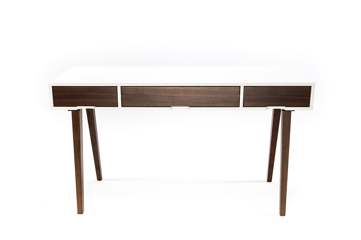 Furniture Maison  Affordable Walnut Desk  White. Pool Table Clearance. Tall Rectangular Table. Drawer With Wheels. Gold Drawer Knobs. Desk Images. Drawer Pulls 3 Inch. Best Desk Fan For Work. Portable Folding Tables