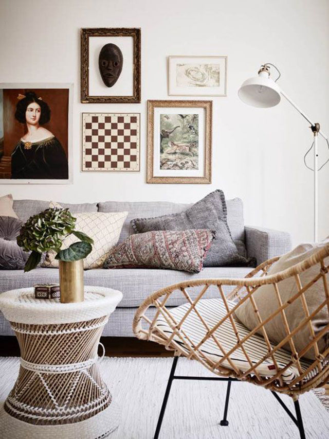 Furniture Maison Boho Clara Rattan Chair