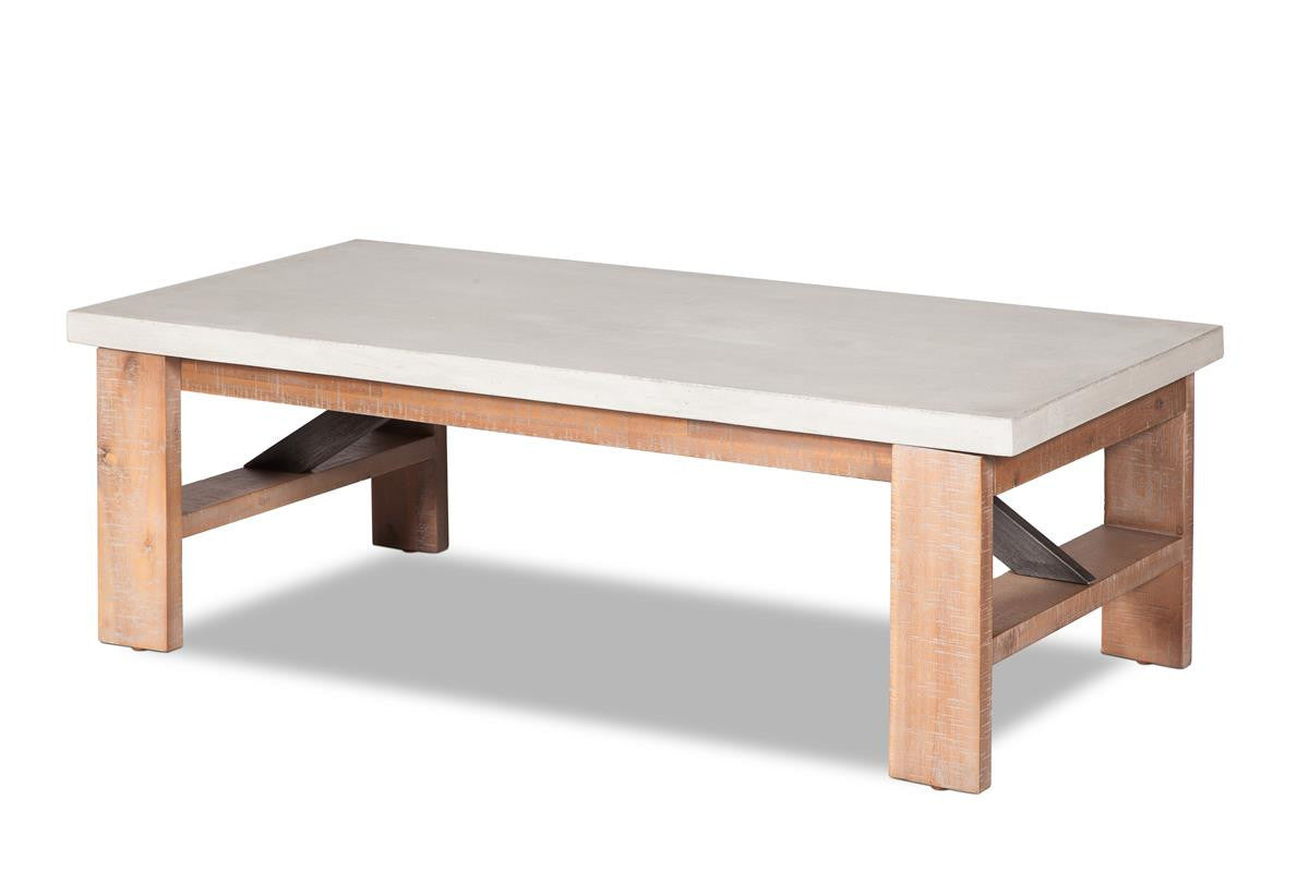 Concrete Coffee Table Vega Furniture Maison