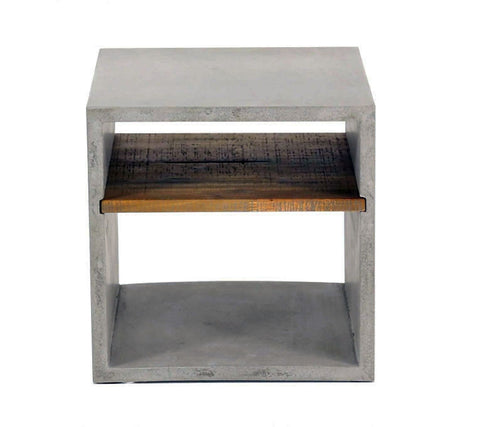 Vega Concrete Cube (with Shelf)   Accessories   Furniture Maison...