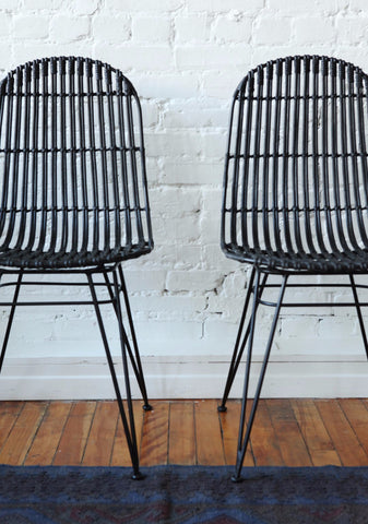 Lilo Dining Chair Black (Set Of 2)   Chair   Furniture Maison.