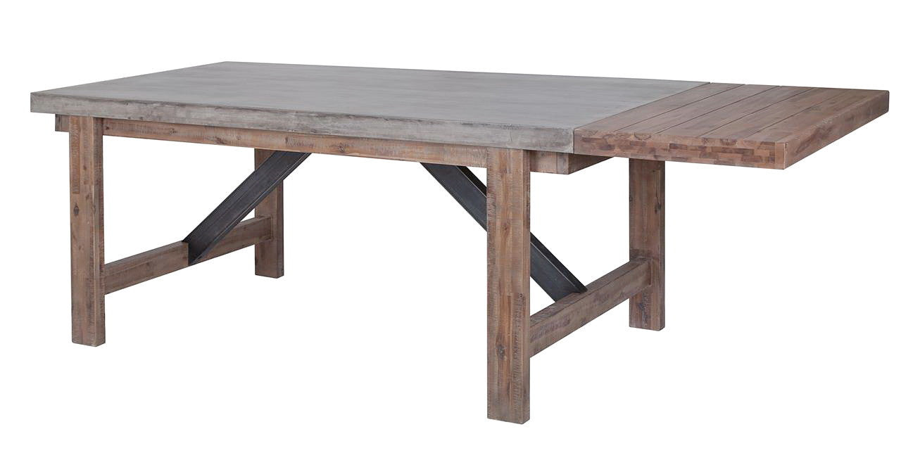 Dining Extension Table Furniture Maison Small Concrete Dining Table With Extension