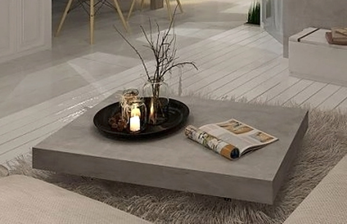 6 · Vega Concrete Coffee Table On Wheels   Tables   Furniture Maison. Amazing Pictures