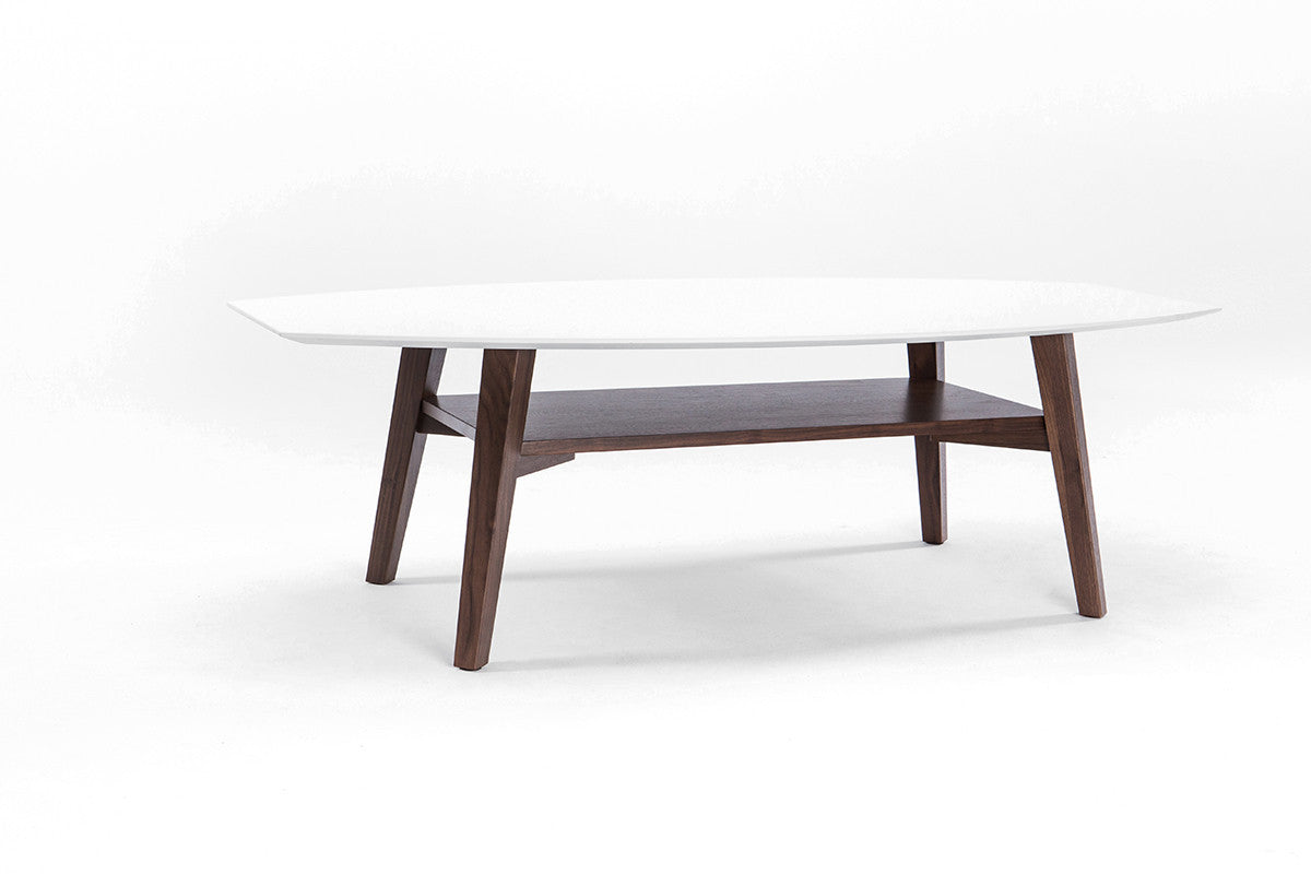 Furniture Maison Top Of The Line Walnut Coffee Table