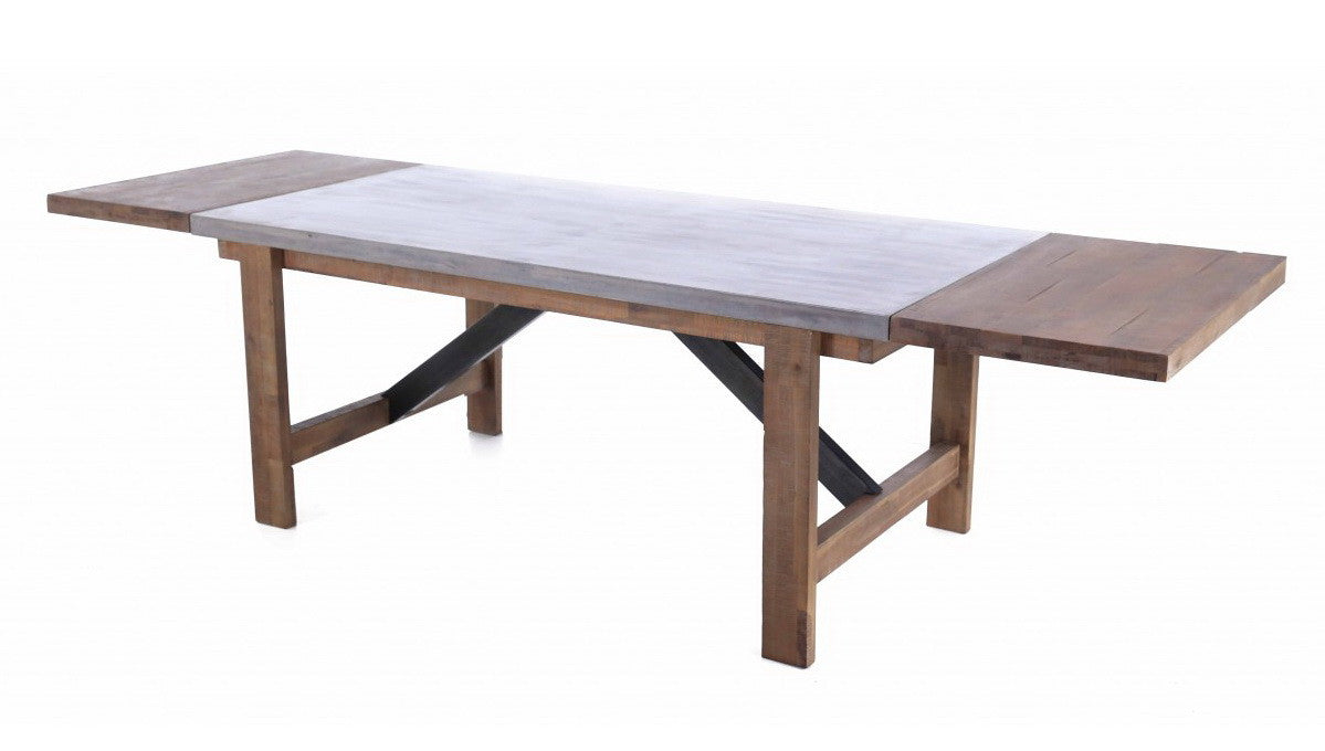 Concrete Top Dining Tables Modern Chic Concrete Dining Table Furniture Maison
